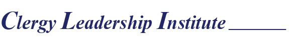 Clergy leadership Institute